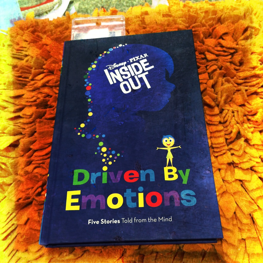 "The book version of the movie, ""Driven by Emotions."""